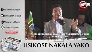 Waziri Mkuu Kassim Majaliwa awawashia moto viongozi Halmashauri ya Mbozi