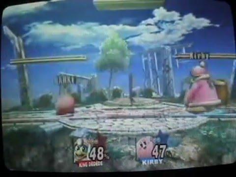 SSBB #7 WiFi-Match: Kirby-Kun VS Scope & Sarxe