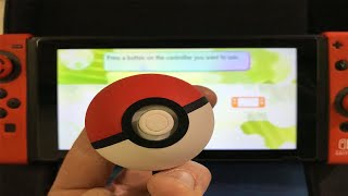 How To Connect POKEBALL PLUS with SWITCH & GET MEW