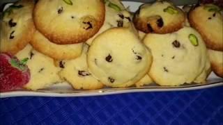 آموزش شیرینی کشمشی توسط پروانه جوادی خواهر جواد جوادی