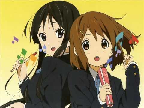 【K-ON!】[Yui & Mio] Fude Pen Boru Pen