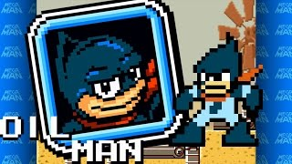 Mega Man Revised - Oil Man theme (Desert Oil Rig)