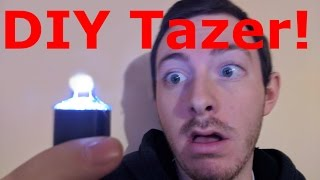 How To Make a Simple DIY Tazer!