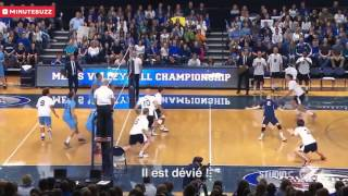 Amazing Men: Best Volleyball Blocks Ever with Scott Sterling (Funny Video)
