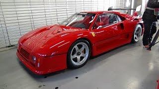 Ferrari 288 GTO Evoluzione startup