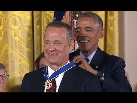 watch Obama Awards Presidential Medal of Freedom FULL EVENT
