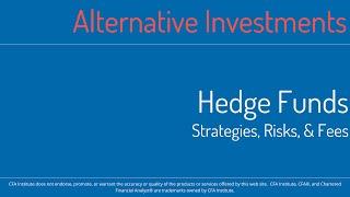 2016 CFA Level 1 MindMap - SS18 - Alternative Investments - Hedge Funds