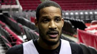 Trevor Ariza interview before Game 5 against the Timberwolves