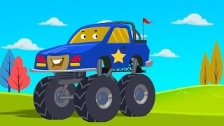 Monster Truck stunts | children videos| kids videos