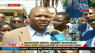 Kericho District Hospital performs first open heart surgery in the county
