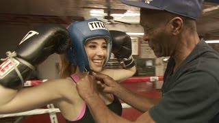 Boxing Workout With Michael B Jordan's Trainer (Padman) For New Movie Creed