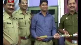 22 yr old engineering student creates multi purpose stick for Maharashtra Police