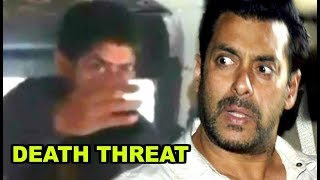 Salman Khan Gets Death Threats From Gangster Lawrence Bishnoi