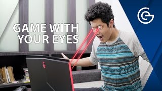 GAME WITH YOUR EYES - Tobii Eye Tracking