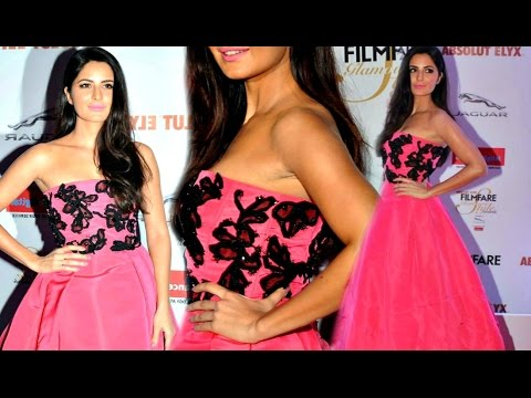 Xxx Mp4 Katrina Kaif Hot In Pink Off Shoulder Gown At Filmfare Style And Glamour Awards 2016 3gp Sex