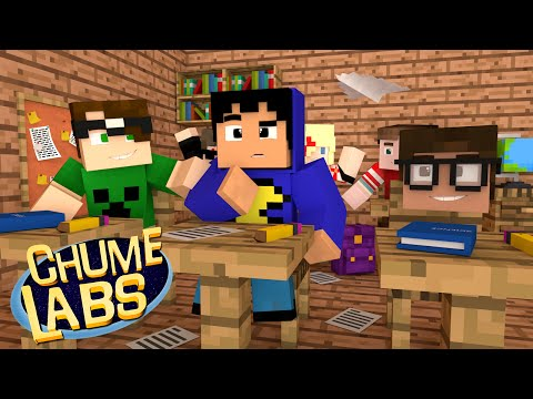 Minecraft UM DIA NA ESCOLA Chume Labs 2 59