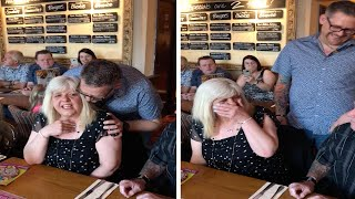 Adorable Moment Son Surprises Mom On 60th Birthday