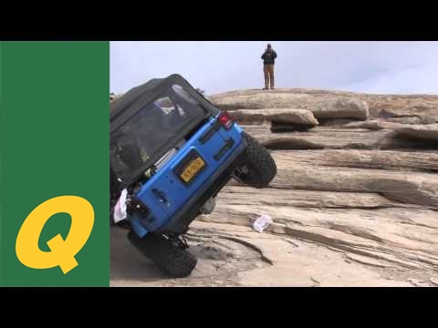 Double Whammy Rollover - Golden Spike - Moab Jeep Wrangler JKU