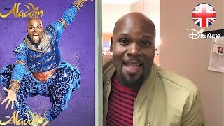 ALADDIN THE MUSICAL | New Genie Michael James Scott Joins London Cast! | Official Disney UK