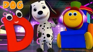 Phonics Letter D | Alphabets Rhyme| ABC Song For babies | Video for kids | learning street with Bob