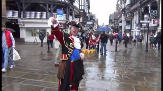 TOWN CRIER AND THE STRANGE LADY