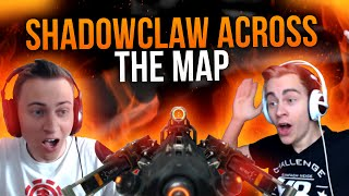 SHADOWCLAW ACROSS THE MAP CHALLENGE in Black Ops 3 | TwoEpicBuddies