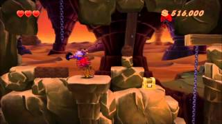 Let's Play DuckTales Remastered (ft. GoldenCommentator) Part 4: To the center of the earth!