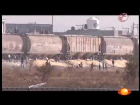 Robo trenes Celaya