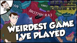 The Weirdest Game of Hearts of Iron 4 I've Ever Played hoi4 Mod