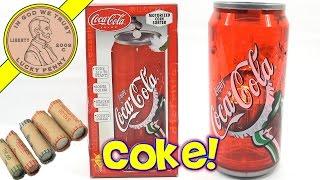 Coca Cola Coin Sorting Bank - Sorts, Counts, Enjoy A Coke!