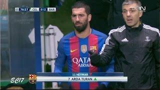 Arda Turan vs Celtic (Away) (23/11/2016) 720p HD by EC17