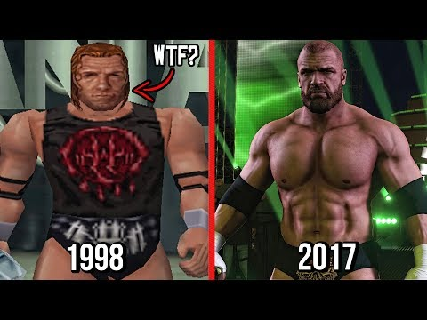 Xxx Mp4 The Evolution Of Triple H In WWE Games WWF War Zone To WWE 2K18 3gp Sex
