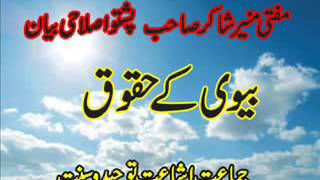 MUFTI MUNIR SHAKER SAHIB PASHTO BAYAN DA KHAZE HUQOQ   YouTubevia torchbrowser com