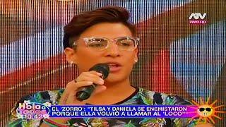 HOLA A TODOS 29/04/16 EL 'ZORRO' CUENTA LA VERDAD SOBRE LA ENEMISTAD DE TILSA Y DANIELA CILLONIZ