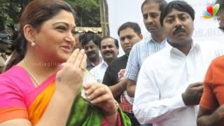 Khushboo's upset tweets | Quits DMK | Hot Tamil Cinema News