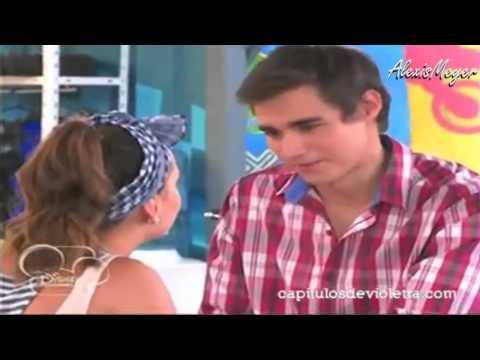 Violetta 2 Leon y Lara se besan Leonara Capitulo 33