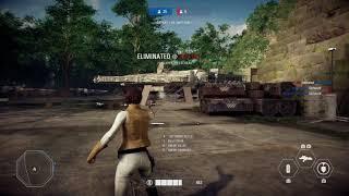 Star Wars Battlefront II Arcade - Princess Leia