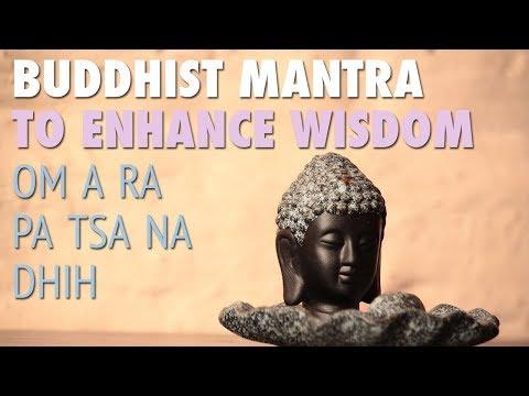 Buddhist Mantra to Enhance Wisdom   OM A RA PA TSA NA DHIH   Relaxing Meditation Music