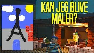KAN JEG BLIVE MALER?! - Passpartout The Starving Artist Dansk Ep 1