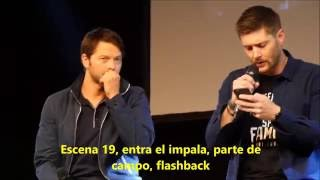 Jensen & Misha Jibcon2016 panel sub español Parte 1/2