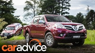 2017 Foton Tunland 4x4 review | CarAdvice