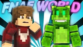 FNAF World - VIRTUAL FREDDY (Minecraft Roleplay) Day 1