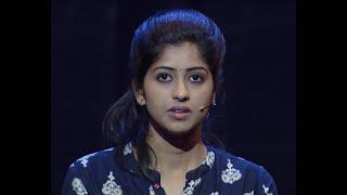 Nayika Nayakan l Darsana in Mukham round I Mazhavil Manorama