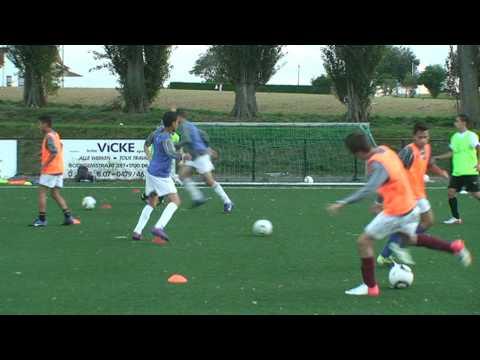 Bon Air Sport U16 Nationaux 2012 Entrainement du 18 09 2012