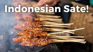 Indonesian Sate (Satay)!