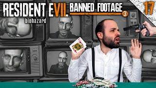RE7 #17   EL JUEGO DE CARTAS PERFECTO   RESIDENT EVIL 7 DLC: BANNED FOOTAGE Gameplay Español