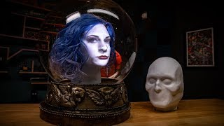 Projection Mapped Floating Head Kit!
