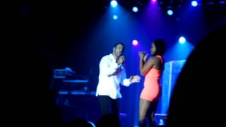 Keith Sweat with Janea