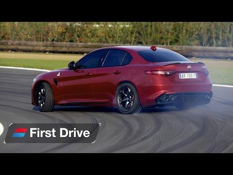 2016 Alfa Romeo Giulia Quadrifoglio first drive review The Italian M3