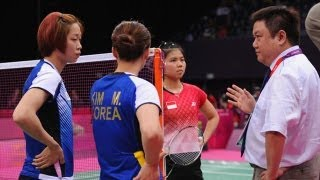 Badminton Players Ousted for Trying to Lose Match